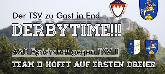 Derbyzeit: Der TSV zu Gast in Schwabthal