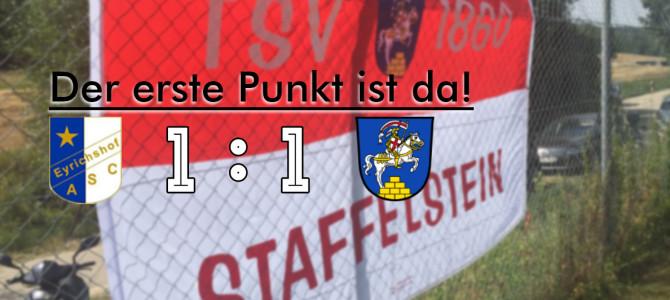 Team II holt ersten Punkt in Eyrichshof